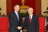 Tổng Bí thư Nguyễn Phú Trọng tiếp ông Dương Khiết Trì