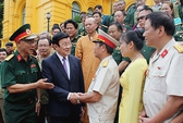 Chủ tịch nước tiếp cựu binh chiến đấu bảo vệ biên giới ở Vị Xuyên