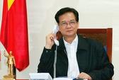 Thủ tướng Nguyễn Tấn Dũng điện đàm với Chánh Văn phòng Nhà Trắng