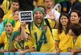 """Ban bố """"tình trạng khẩn cấp"""" trước trận tứ kết Chile - Uruguay"""