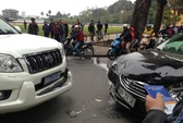 Vụ trưởng Văn phòng Chính phủ gây tai nạn liên hoàn