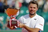 Đánh bại Federer, Wawrinka lần đầu đăng quang ở Monte Carlo