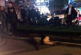 Tài xế cán xe qua người cô gái sau khi gây tai nạn