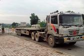 Thanh Hóa: Bắt tài xế xe đầu kéo đâm nát trạm cân