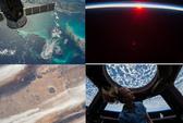 Vẻ đẹp muôn màu của trái đất nhìn từ không gian
