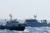 Tàu Trung Quốc đồng loạt áp sát, uy hiếp tàu Việt Nam