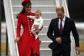 Hoàng tử bé George lần đầu công du