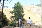 Mỏ đá phá hồ thủy lợi