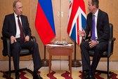 Tổng thống Putin và Thủ tướng Anh