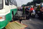 TP HCM: Xe buýt cán chết người trên đường Trường Chinh