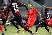 Tân binh Mathieu ra mắt, Barcelona bị cầm hòa ở Pháp