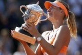 Đánh bại Halep, Sharapova đăng quang lần thứ nhì ở Roland Garros
