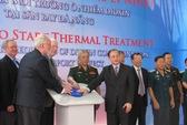 Đưa vào vận hành hệ thống xử lý nhiệt dioxin tại khu vực sân bay Đà Nẵng