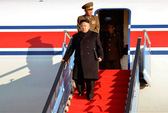 Ông Kim Jong-un không sợ đi máy bay như cha