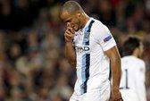 Man City trắng tay ở Champions League