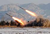 Triều Tiên bắn tên lửa