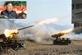Triều Tiên tập trận bắn đạn thật trên biển