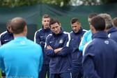 Lampard rụt rè trong buổi tập đầu cùng Man City