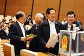 Quốc hội: Kết quả lấy phiếu tín nhiệm 50 lãnh đạo cao cấp