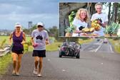 Vợ chồng già chạy marathon 366 ngày liên tục