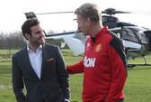 Juan Mata ngồi trực thăng đến ký hợp đồng với Man United