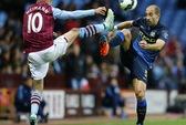 Thắng cách biệt Aston Villa, Man City lên ngôi nhì bảng