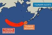 Mỹ: Động đất  8,0 độ Richter gây cảnh báo sóng thần