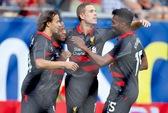 Thắng Olympiakos 1-0, Liverpool mơ tranh ngôi đầu bảng
