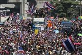 Trung tâm Bangkok bị khóa chặt