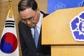 """Thủ tướng Hàn Quốc từ chức để đỡ """"gánh nặng cho chính phủ"""""""