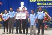 Quỹ Tấm lòng vàng Người Lao Động giúp ngư dân Bình Thuận