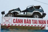 Biển cảnh báo tai nạn giao thông 'độc nhất vô nhị'