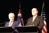 Mỹ đưa tàu chiến Úc vào mạng lưới quân sự Đông Bắc Á