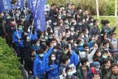Dân Hồng Kông biểu tình phản đối người mua sắm Trung Quốc