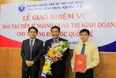 Trường ĐH Quốc tế được đào tạo tiến sĩ ngành quản trị kinh doanh