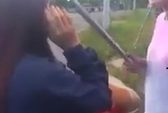 Nữ sinh lớp 9 bị đánh bằng thanh sắt