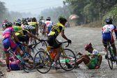 Giải xe đạp Cúp Truyền hình TP HCM 2015: Văn Động nhất chặng 11 trong nắng nóng