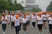 4.500 công nhân chạy bộ vì sức khỏe và an toàn lao động