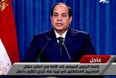 Ai Cập không kích IS tại Libya