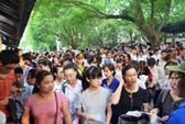 Hà Nội: Gần 50.000 sĩ tử đội nắng gắt thi đại học