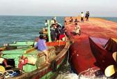 Còn 4 người mất tích do lật tàu trên sông Soài Rạp