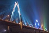 Cấm xe cộ lên cầu Nhật Tân khi bắn pháo hoa đêm giao thừa