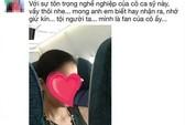 Công luận bức xúc vì ca sĩ cho con tè vào túi nôn trên máy bay
