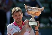 Thắng ngược Djokovic, Wawrinka lần đầu lên ngôi ở Pháp mở rộng