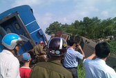 Tàu hỏa tông trực diện xe tải, tài xế tử vong