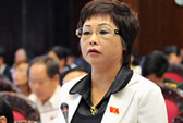 Tạm đình chỉ quyền hạn đại biểu QH với bà Châu Thị Thu Nga