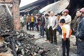 Cháy chợ giữa đêm, thiệt hại 30 tỉ đồng