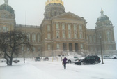 Mỹ: Bão tuyết đe dọa Iowa trước giờ bỏ phiếu