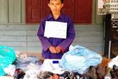 Bắt 2 đối tượng người Lào vận chuyển 34 bánh heroin