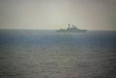 Khu trục hạm Nga theo dõi tàu chiến Mỹ tập trận
